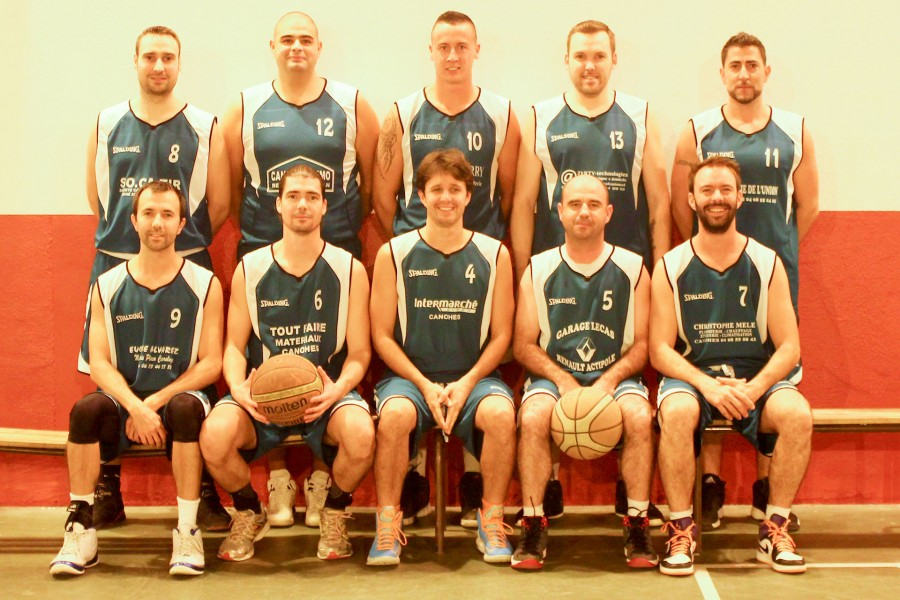Senior Hommes club basket canohes